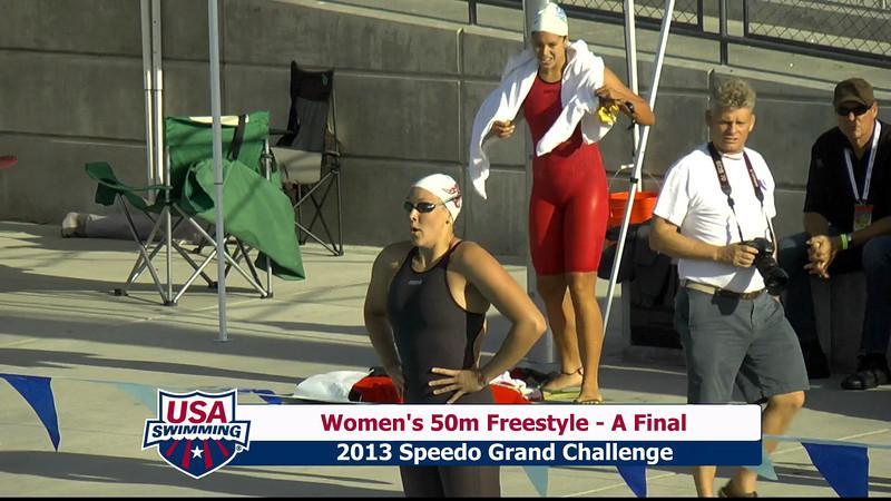#9 Women 50 Free A Final