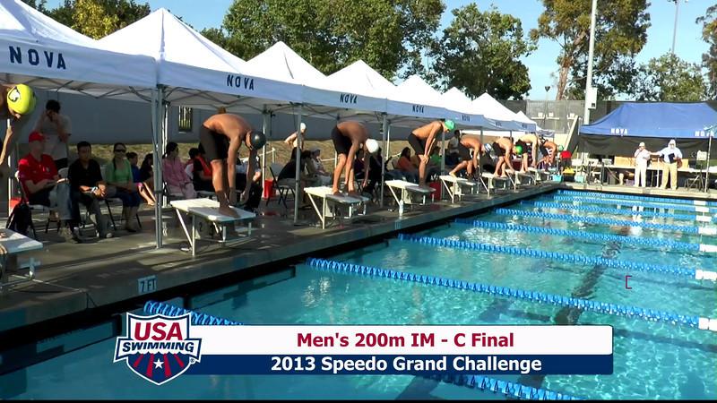 #10 Men 200 IM C Final