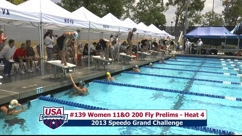 #39 Women 200 Fly Heat 7