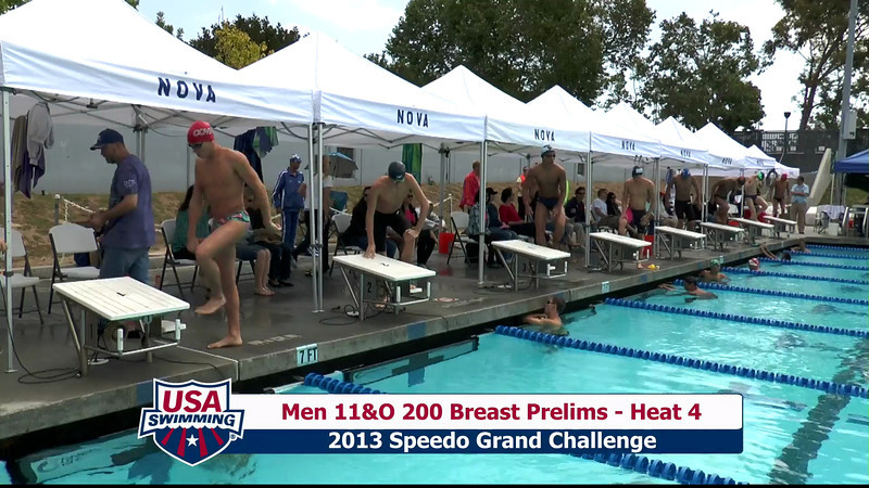 #32 Men 200 Breast Heat 7