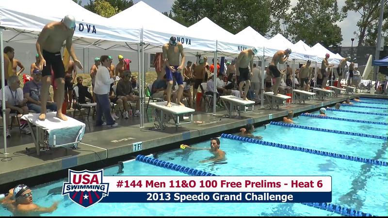 #44 Men 100 Free Heat 8