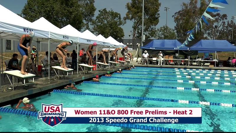 #30 Women 800 Free Heat 5