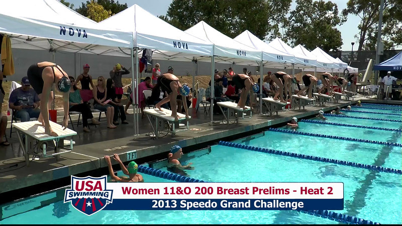 #31 Women 200 Breast Heat 6