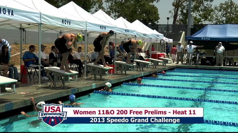 #16 Women 200 Free Heat 14