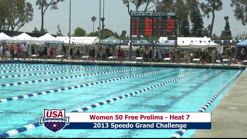 #9 Women 50 Free Heat 10