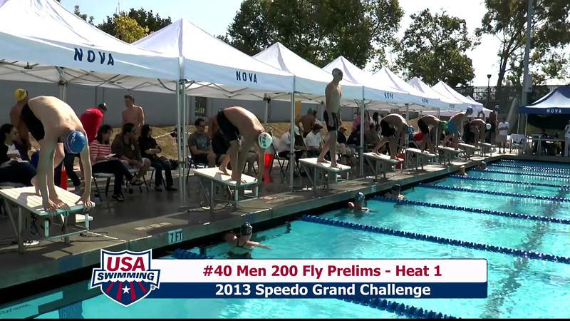 #40 Men 200 Fly Heat 1