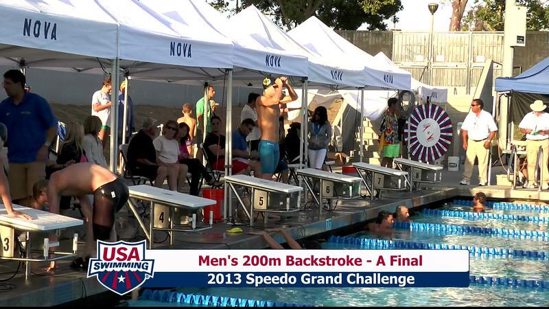 #27 Men 200 Back A Final