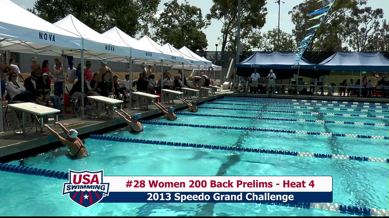 #28 Women 200 Back Heat 4
