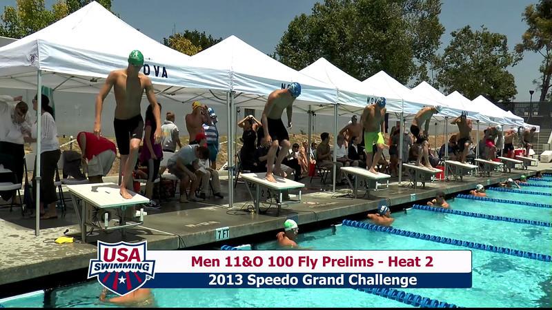 #23 Men 100 Fly Heat 4