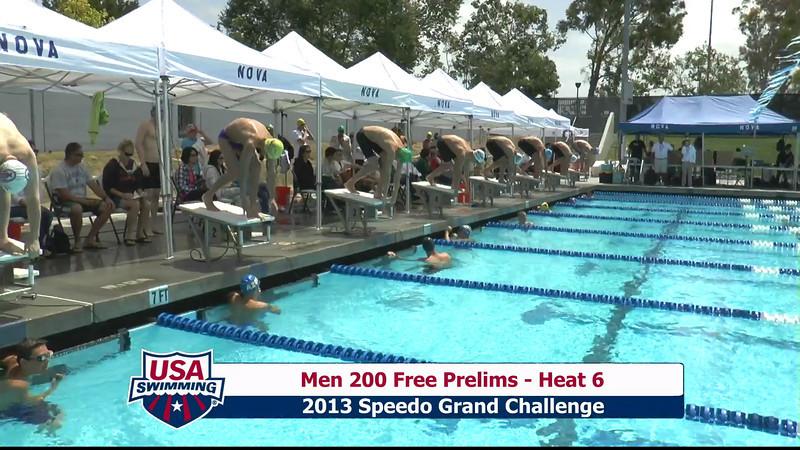 #2 Men 200 Free Heat 9