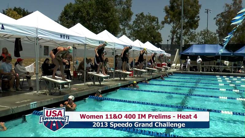 #20 Women 400 IM Heat 8