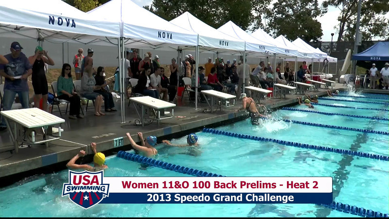 #35 Women 100 Back Heat 5