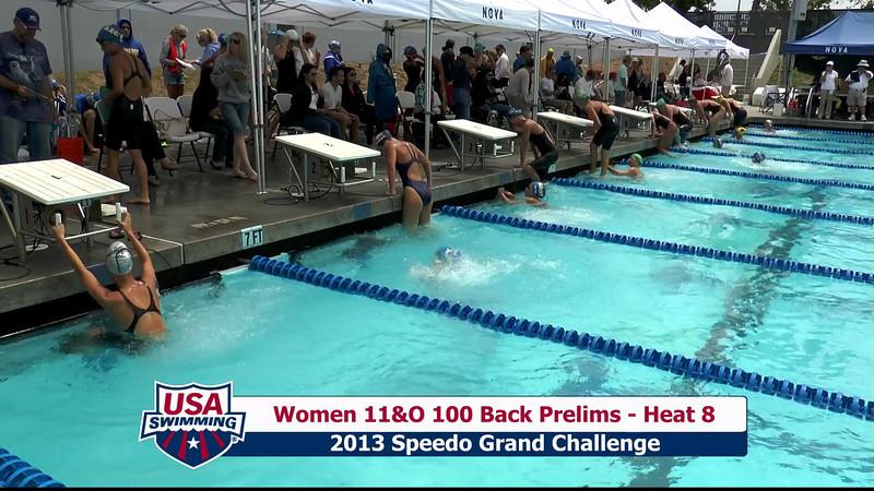 #35 Women 100 Back Heat 11