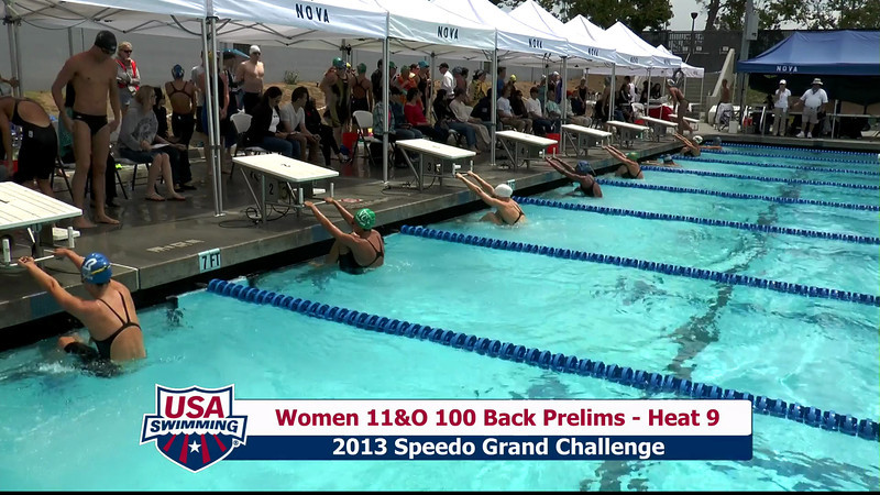 #35 Women 100 Back Heat 12