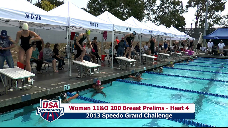 #31 Women 200 Breast Heat 8