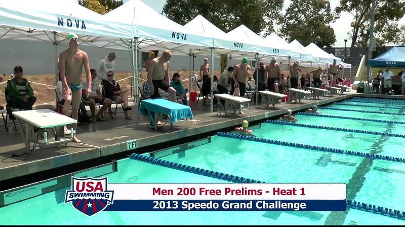 #2 Men 200 Free Heat 4