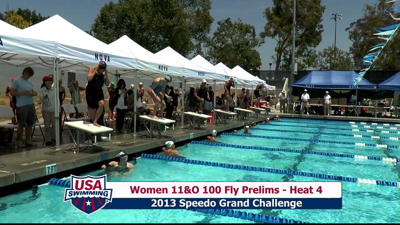 #24 Women 100 Fly Heat 9