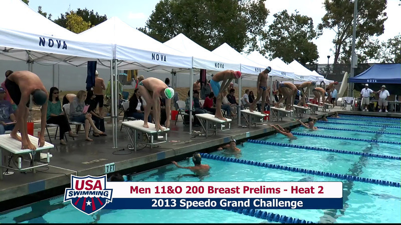#32 Men 200 Breast Heat 5