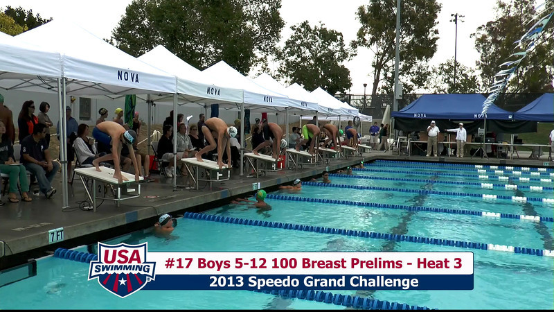 #17 Boys 5-12 100 Breast Heat 3