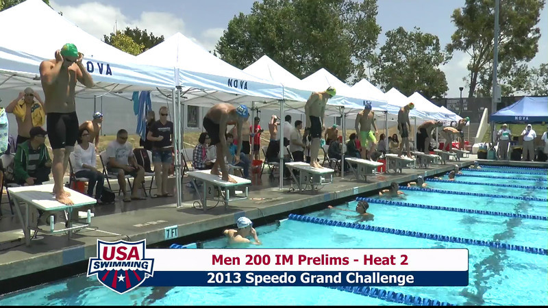 #10 Men 200 IM Heat 5