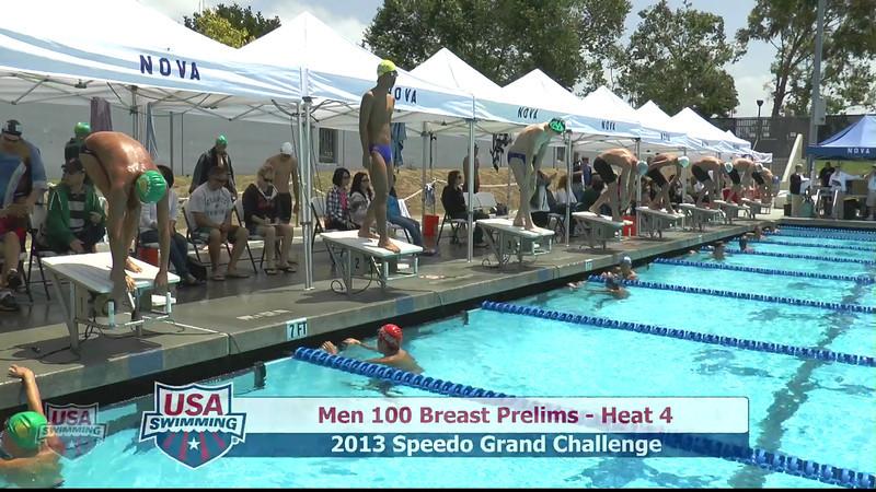 #6 Men 100 Breast Heat 7