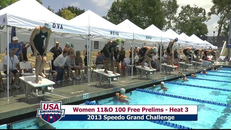 #43 Women 100 Free Heat 6