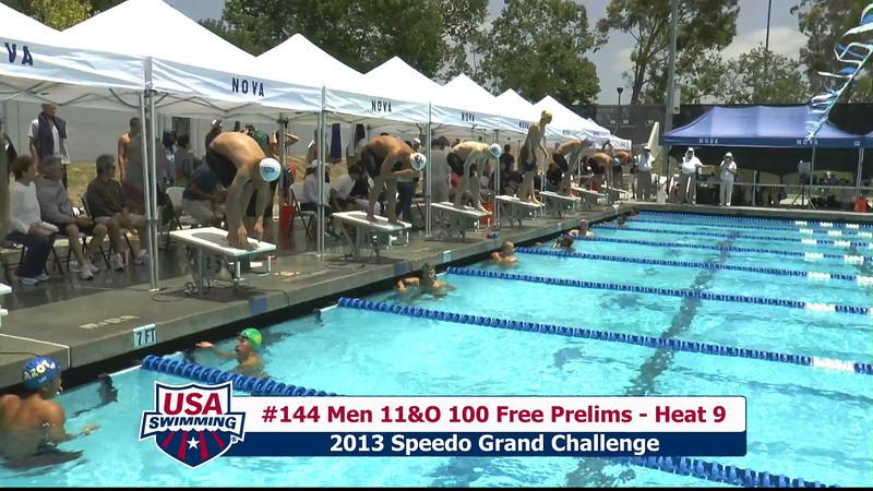 #44 Men 100 Free Heat 11