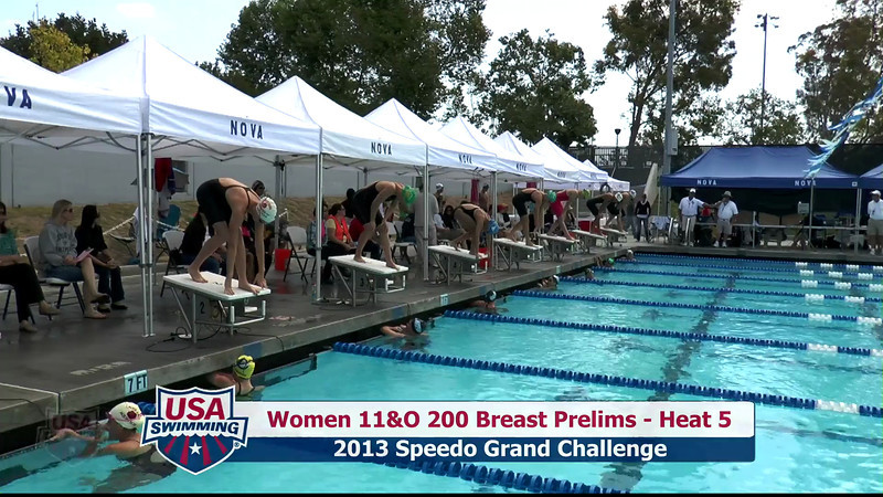#31 Women 200 Breast Heat 9