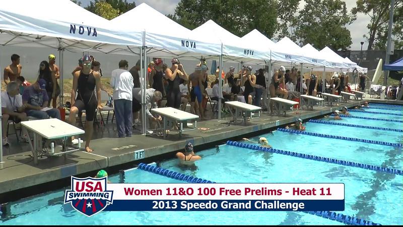 #43 Women 100 Free Heat 14