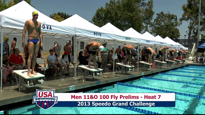 #23 Men 100 Fly Heat 9