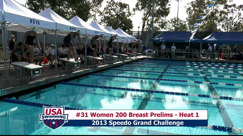#31 Women 200 Breast Heat 1