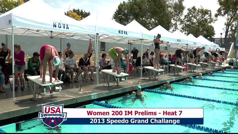 #1 Women 200 IM Heat 10
