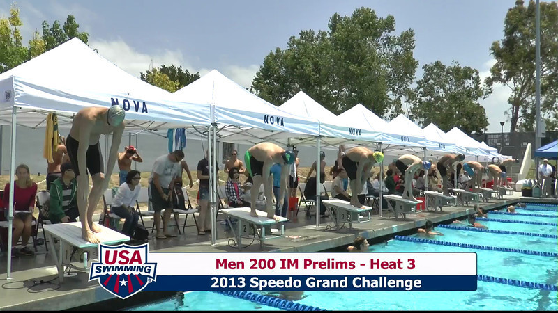 #10 Men 200 IM Heat 6