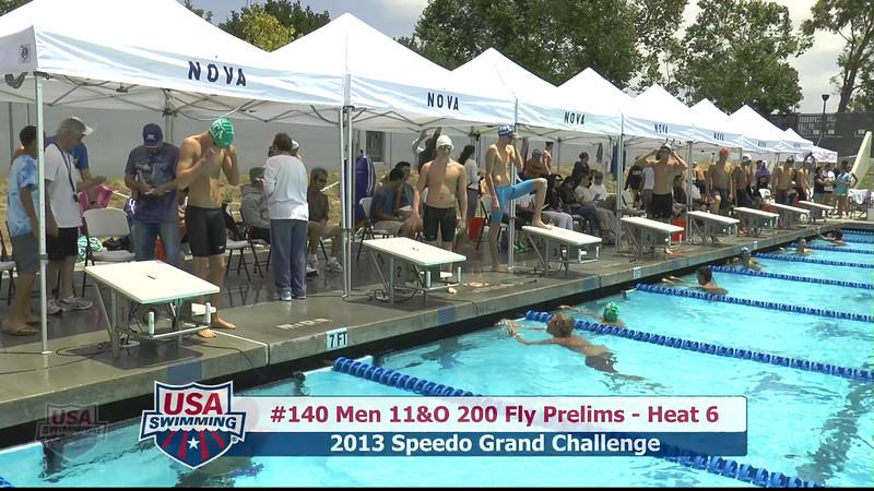 #40 Men 200 Fly Heat 8