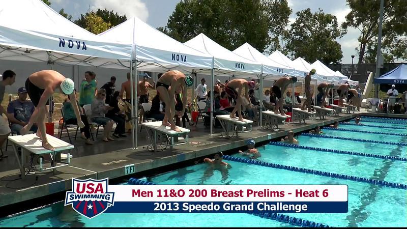 #32 Men 200 Breast Heat 9