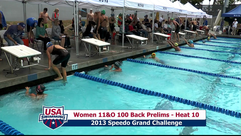 #35 Women 100 Back Heat 13