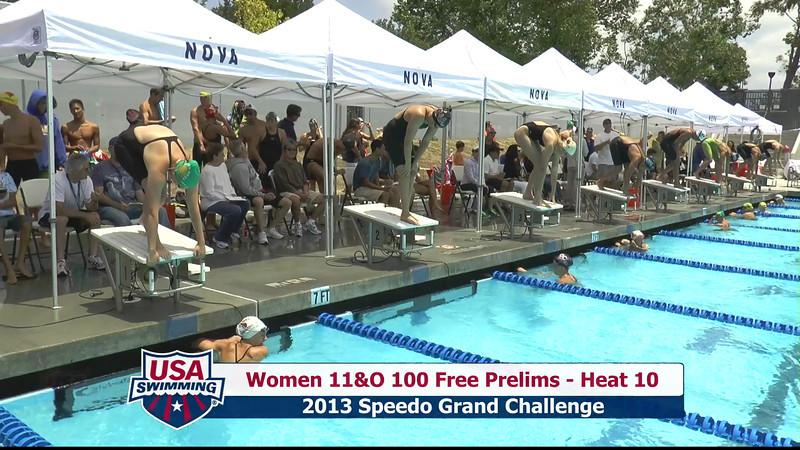 #43 Women 100 Free Heat 13