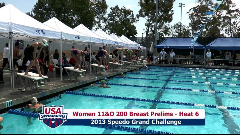 #31 Women 200 Breast Heat 10