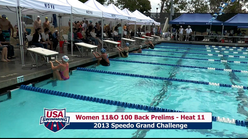 #35 Women 100 Back Heat 14