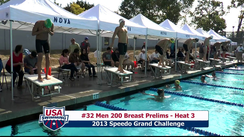#32 Men 200 Breast Heat 3