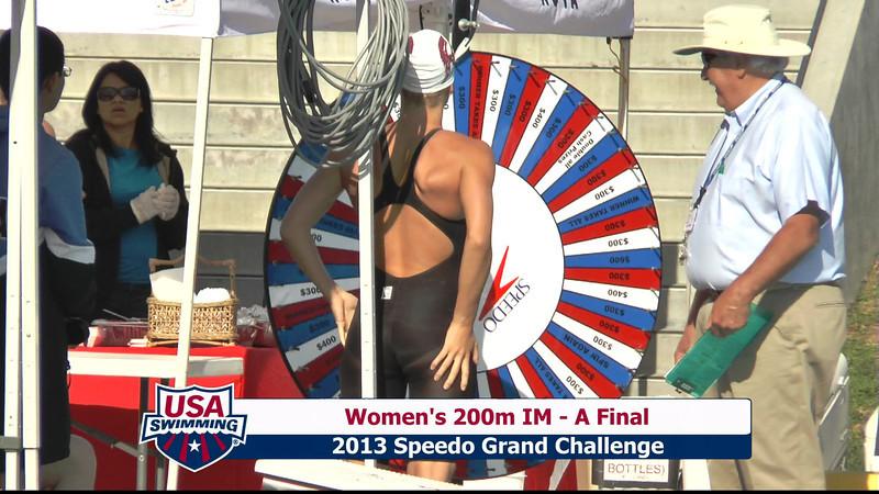 #1 Women 200 IM A Final