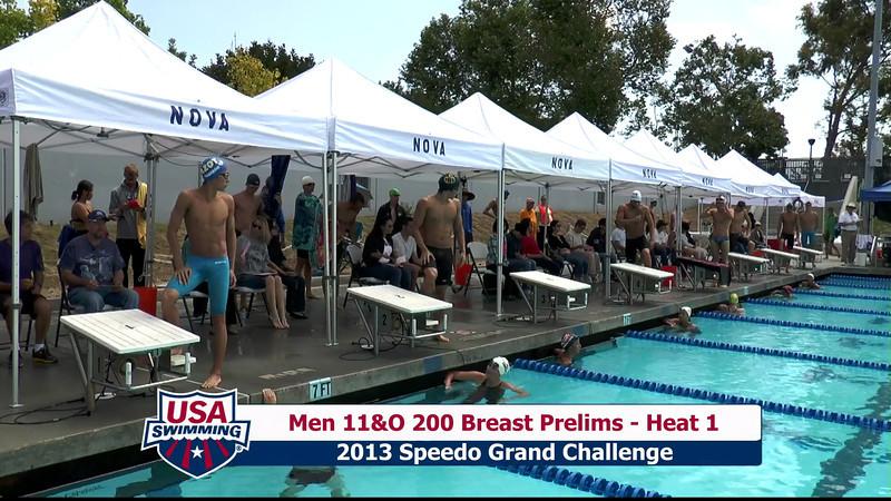#32 Men 200 Breast Heat 4