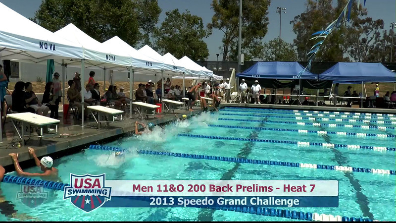 #27 Men 200 Back Heat 11