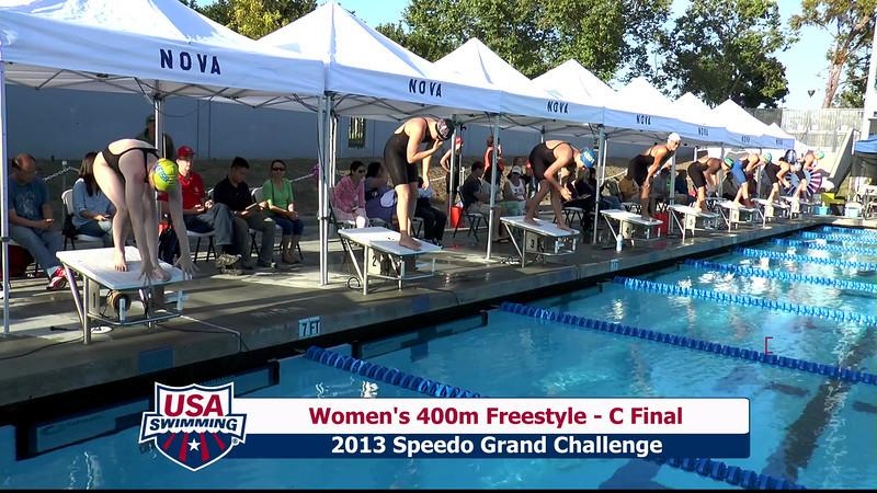 #13 Women 400 Free C Final