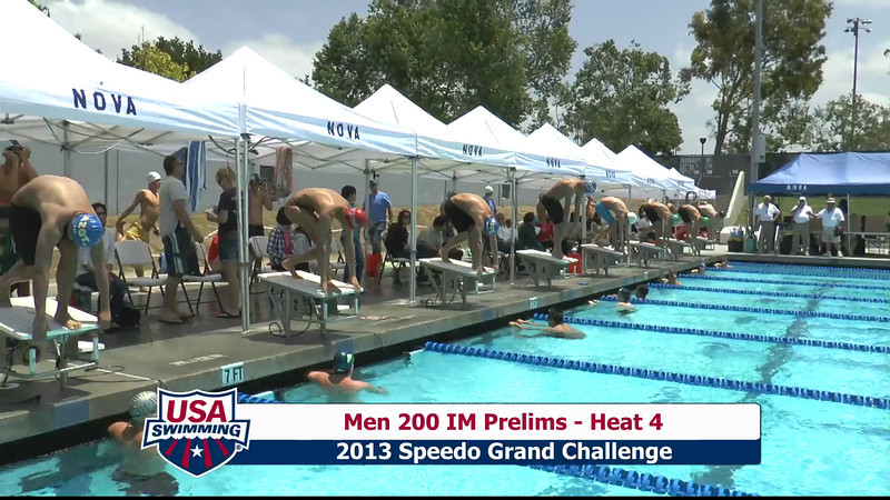 #10 Men 200 IM Heat 7