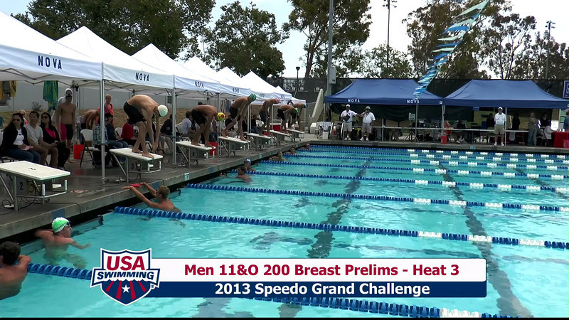 #32 Men 200 Breast Heat 6