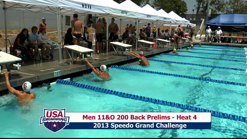 #27 Men 200 Back Heat 8