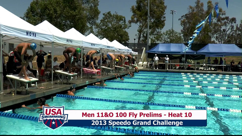 #23 Men 100 Fly Heat 12