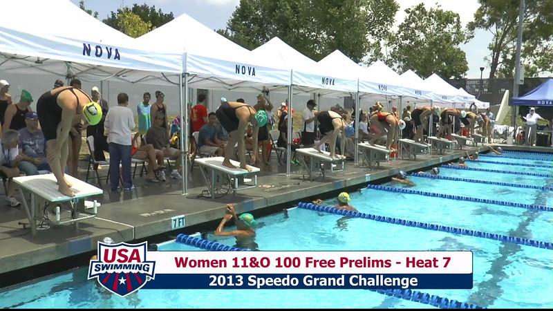 #43 Women 100 Free Heat 10