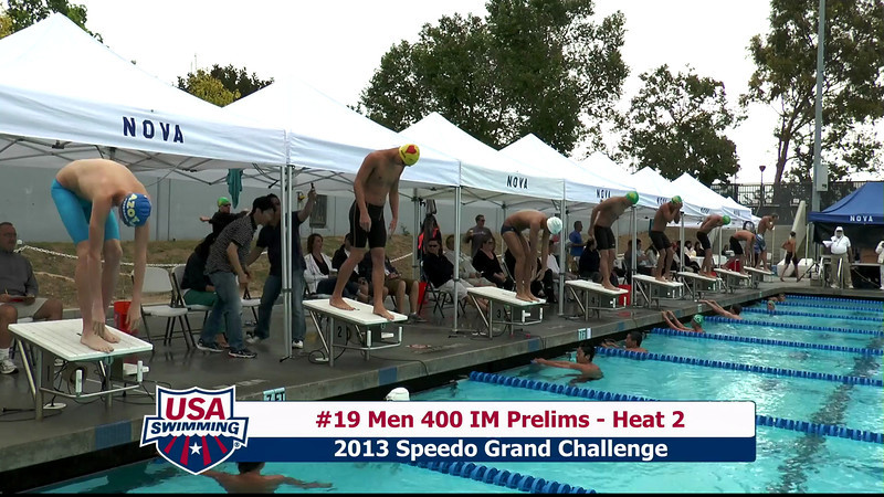 #19 Men 400 IM Heat 2